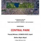İTÜ, Mimarlık Bölümü, Tarihte Bahçe Tasarımları ve Mimarlık, 'Central Park', 2018 (1/1)